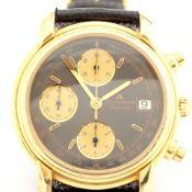 Maurice Lacroix / Les Mecaniques - Chronograph - Gentlemen's Steel Wrist Watch