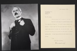 Ramsay MacDonald (1866 - 1937) Original Signature on House of Commons paper dated 1928.