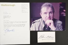 Francis Bacon (1909 - 1992) Original Signature.