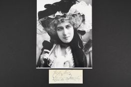 Lillie Langtry (1853 - 1929) Original Signature.