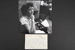 Enid Blyton (1897 - 1968) Original handwritten & signed letter.