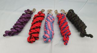5 Lead Ropes
