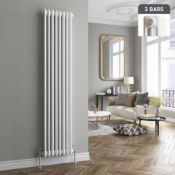 New 1800 x 380mm White TrIPle Panel Vertical Colosseum Radiator. RRP £449.99.Rc509.Made From ...
