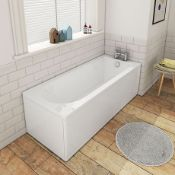 New (L4) 1600 x 700 Round Single Ended Bath. Size: 1600 x 700mm Product Type: Single Ended Bat...