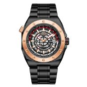Ltd Edition Hand Assembled Gamages Moon Lander Automatic Black Ð 5 Year Warranty & Free Delivery
