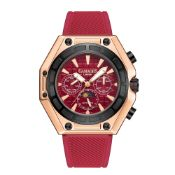 Limited Edition Hand Assembled Gamages Vault Automatic Rose Red Ð 5 Year Warranty & Free Delivery