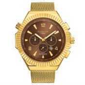 Ltd Edition Hand Assembled Gamages Opulent Sports Automatic GoldÐ 5 Year Warranty & Free Delivery