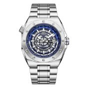 Limited Edition Hand Assembled Gamages Moon Lander Automatic Steel Ð 5 Year Warranty & Free Delivery