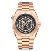 Limited Edition Hand Assembled Gamages Moon Lander Automatic Gold Ð 5 Year Warranty & Free Delivery