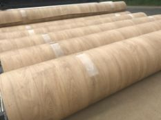 20x2m Heavy Duty Safety Flooring Colour Natural Oak   20x2m total 40m2 per lot Heavy duty safety