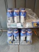 Approx. 26 bottles of feel the good recovery protein shakes BBE 16/06/20 RRP £26 Grade U