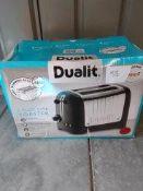 Dualit 2 slot lite toaster Ð RRP £70 Grade U