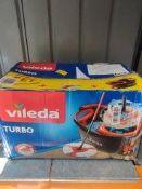 Vileda Turbo mop-RRP £34.99 Grade U
