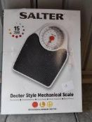 Salter doctor style mechanical scale Ð RRP £29.99 Grade U