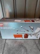 P Air compressor Kit Ð RRP £24.99 Grade A