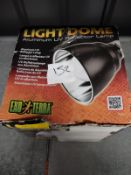 Exo terra Light dome RRP - £25 Grade U