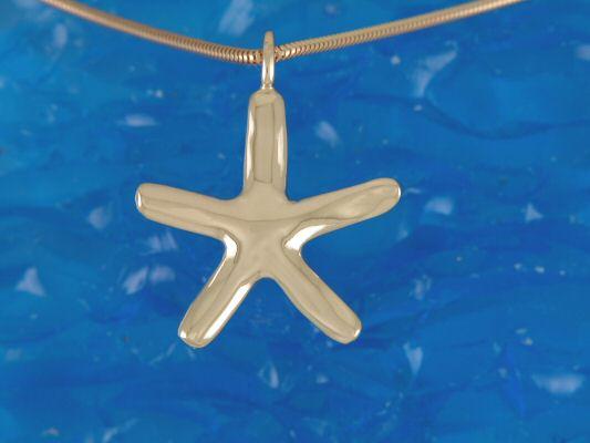 9ct (375) Yellow Gold Starfish Pendant - Image 2 of 5