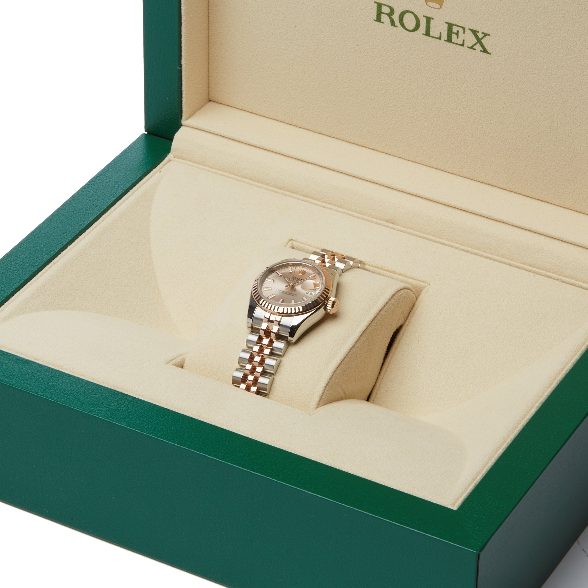 Rolex Datejust 26 179171 Ladies Rose Gold & Stainless Steel Watch - Image 3 of 10