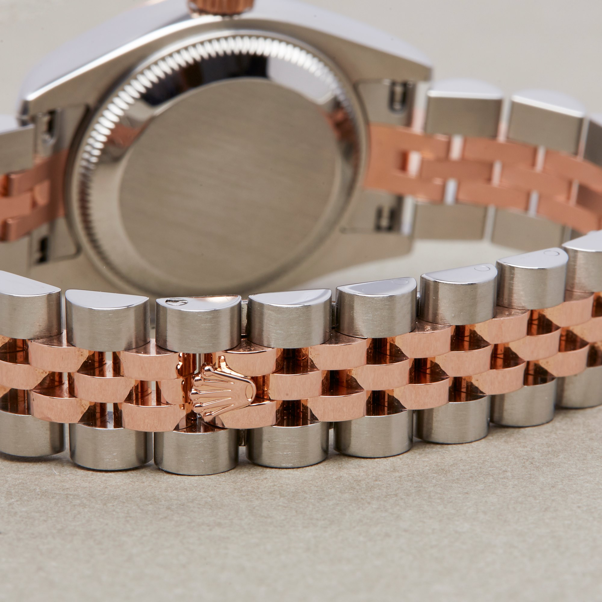 Rolex Datejust 26 179171 Ladies Rose Gold & Stainless Steel Watch - Image 5 of 10