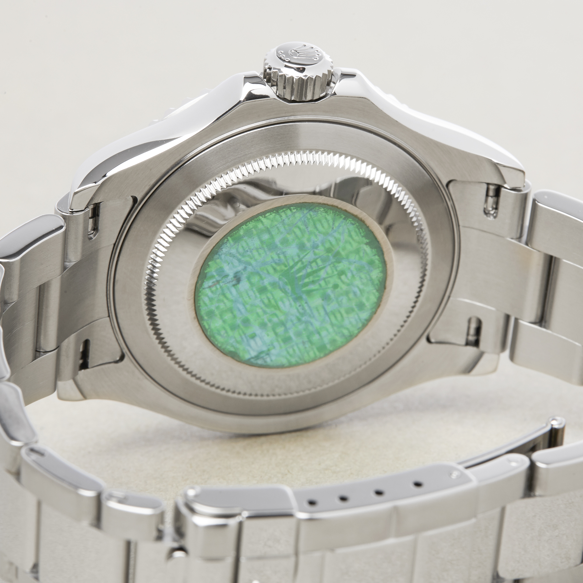 Rolex Yacht-Master 40 16622 Men's Stainless Steel Watch - Image 5 of 10