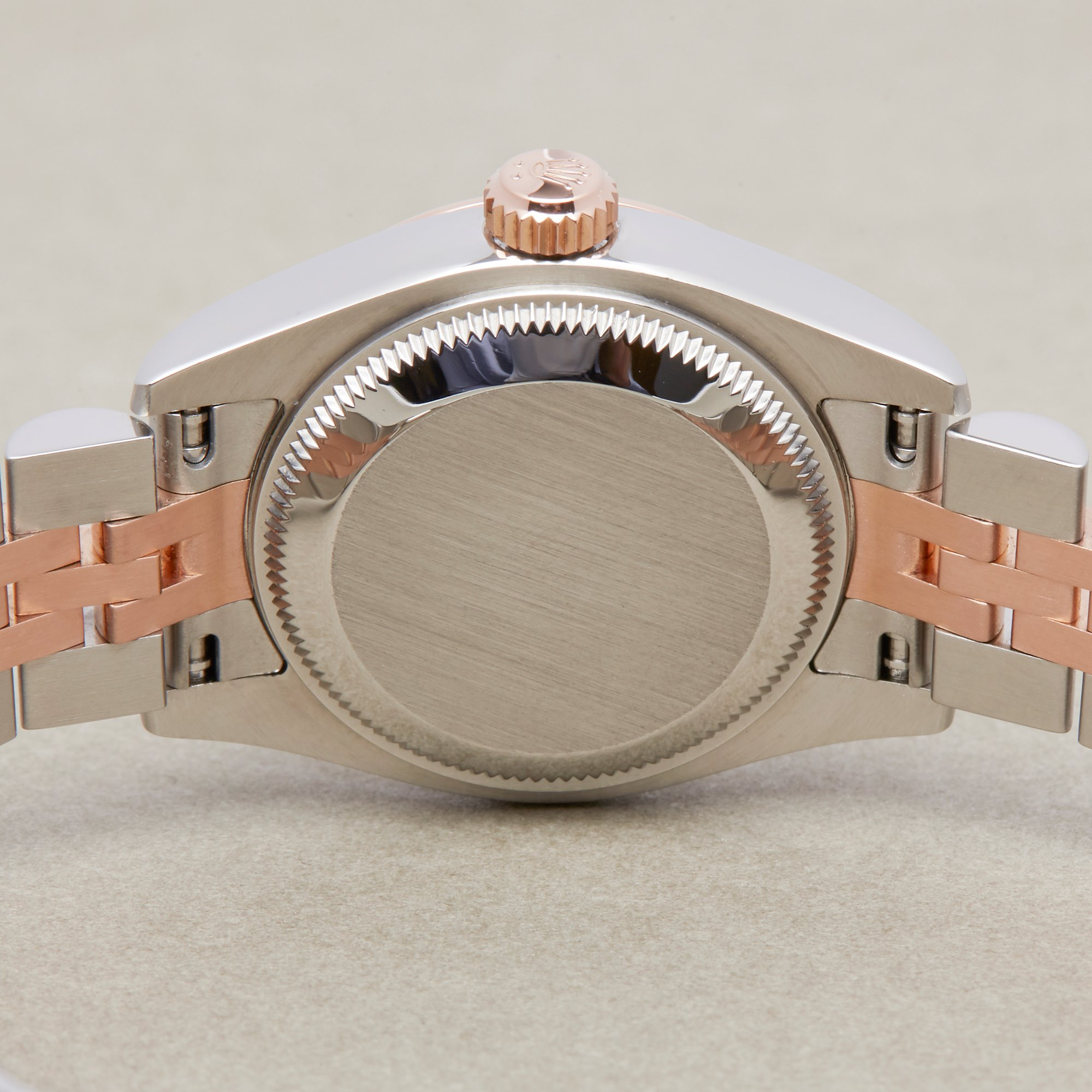 Rolex Datejust 26 179171 Ladies Rose Gold & Stainless Steel Watch - Image 8 of 10