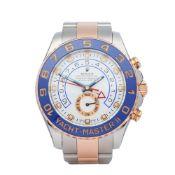 Rolex Yacht-Master II 116681 Men's Rose Gold & Stainless Steel Watch
