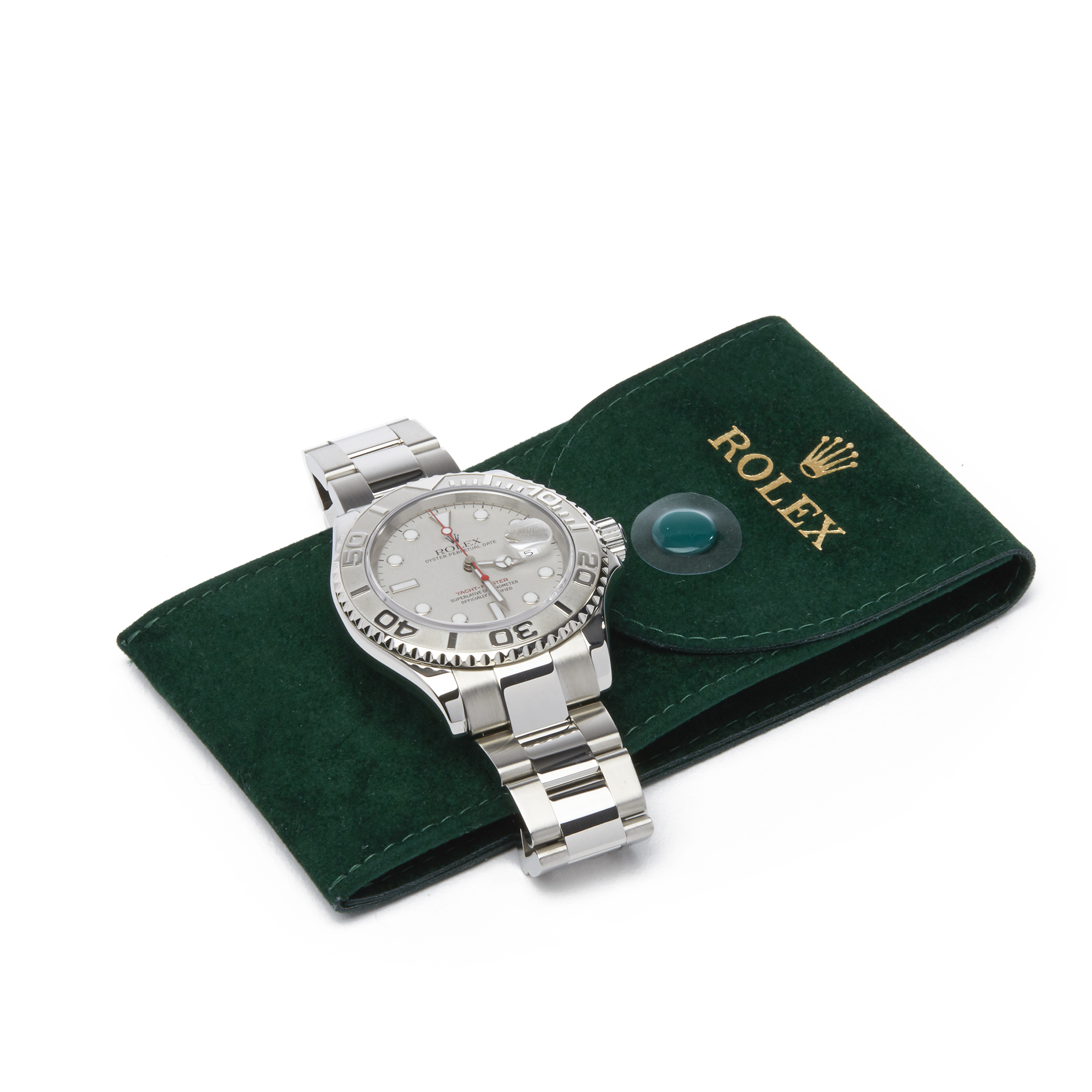 Rolex Yacht-Master 40 16622 Men's Stainless Steel Watch - Image 3 of 10