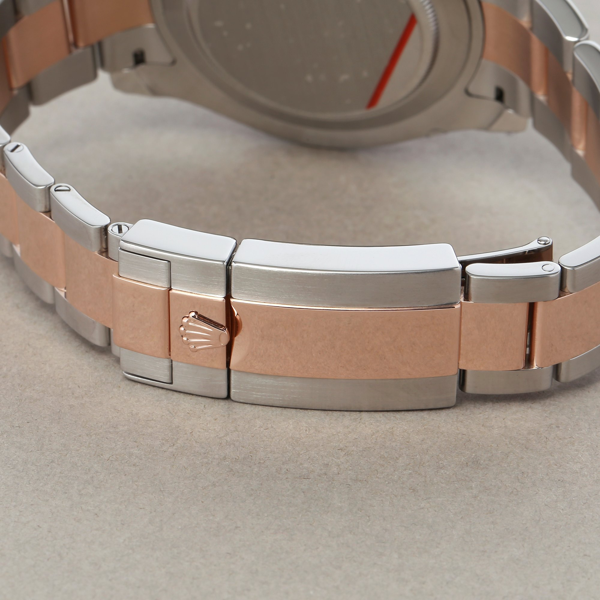 Rolex Yacht-Master II 116681 Men's Rose Gold & Stainless Steel Watch - Image 4 of 10