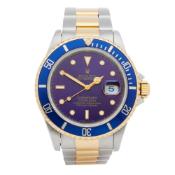 Rolex Submariner Date 16613 Men Yellow Gold & Stainless Steel Watch