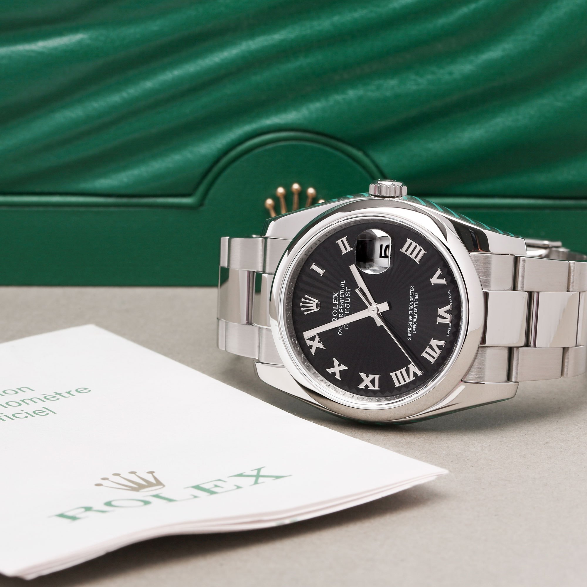 Rolex Datejust 36 116200 Men's Stainless Steel Watch - Image 2 of 12