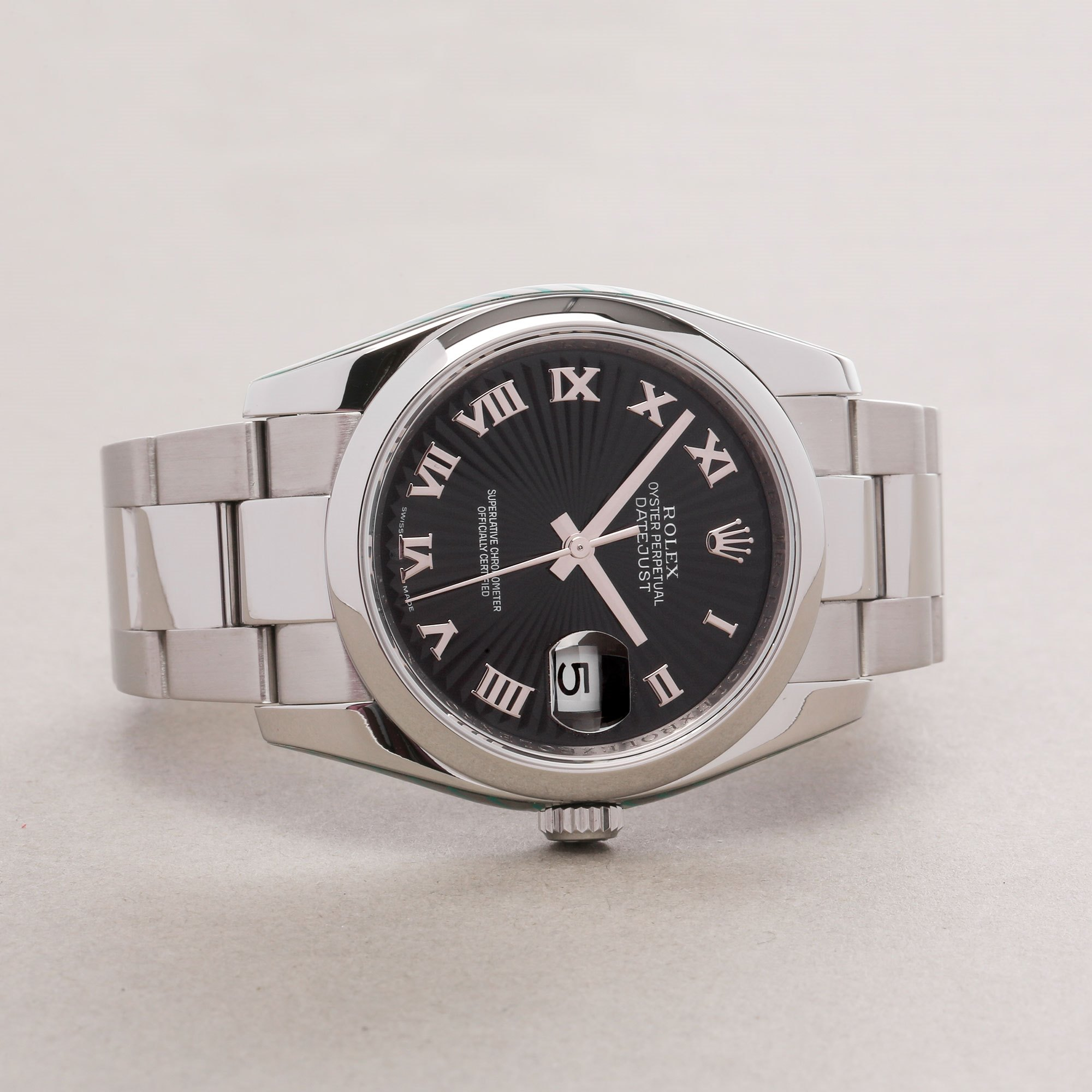 Rolex Datejust 36 116200 Men's Stainless Steel Watch - Image 9 of 12