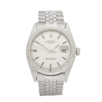 Rolex Datejust 36 1601 Men Stainless Steel Linen Dial Watch