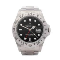 Rolex Explorer II 16570 Men's Stainless Steel Watch
