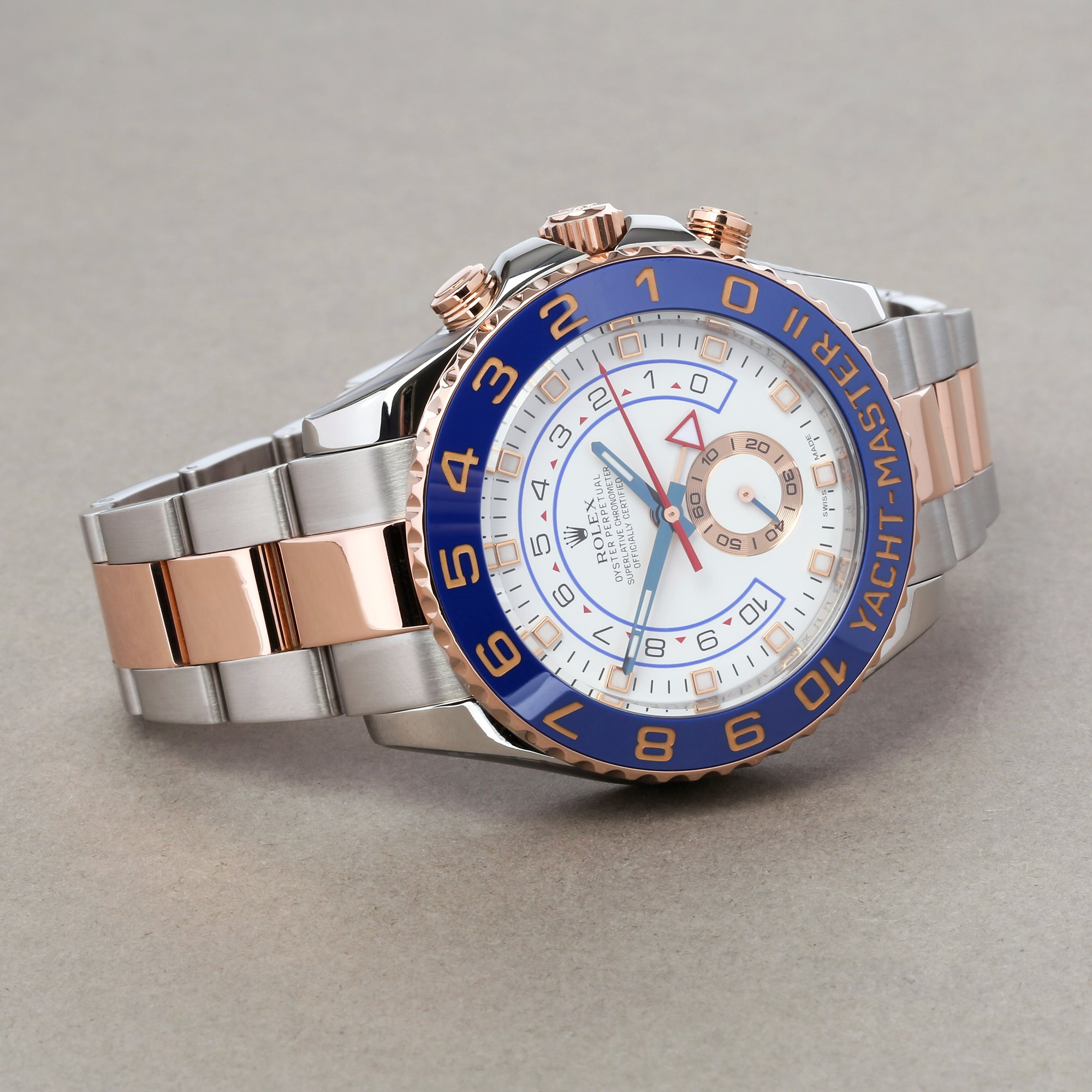 Rolex Yacht-Master II 116681 Men's Rose Gold & Stainless Steel Watch - Image 9 of 10