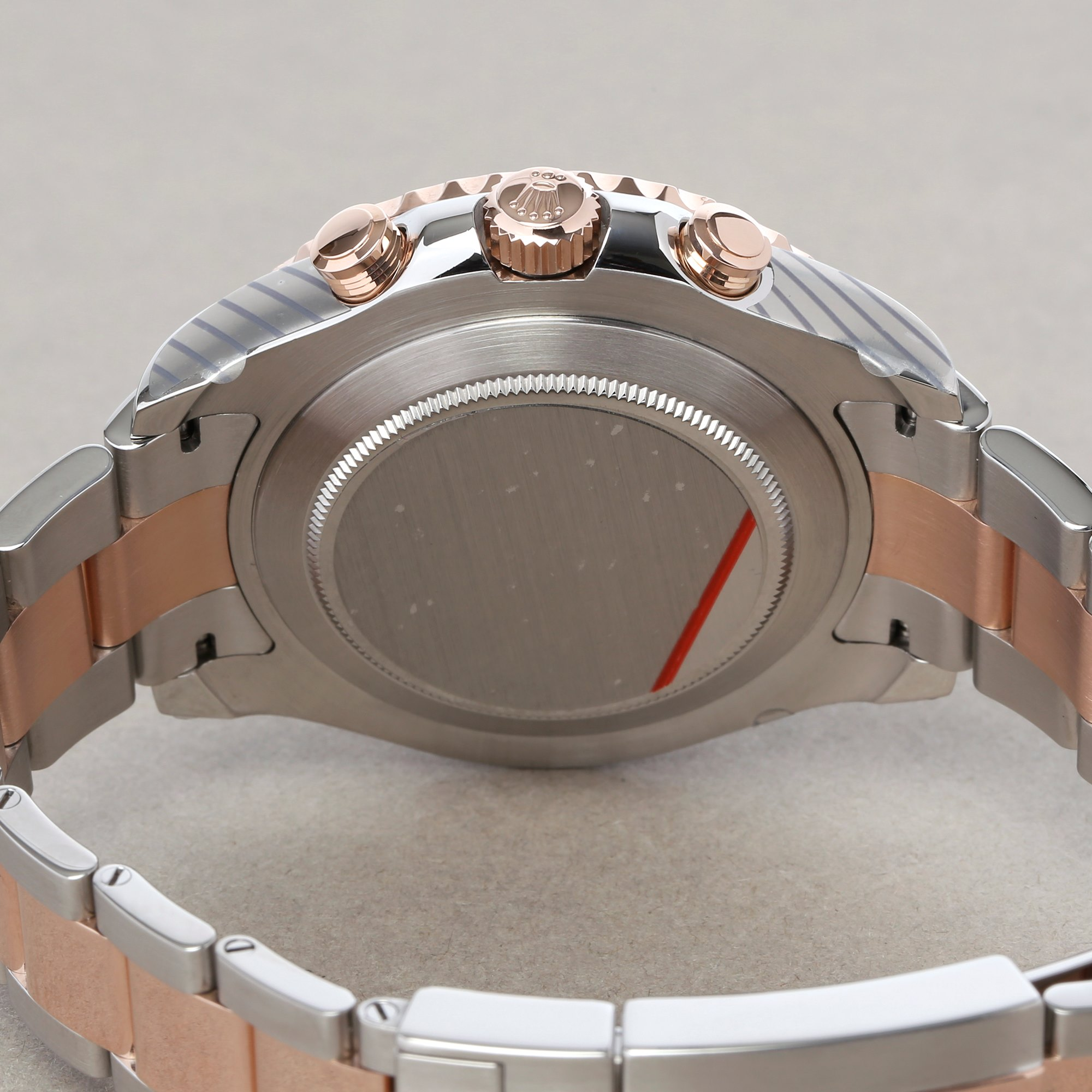 Rolex Yacht-Master II 116681 Men's Rose Gold & Stainless Steel Watch - Image 5 of 10