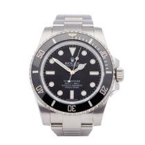 Rolex Submariner No Date 114060 Men's Stainless Steel Watch