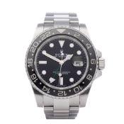 Rolex GMT-Master II Date 116710LN Men's Stainless Steel Watch