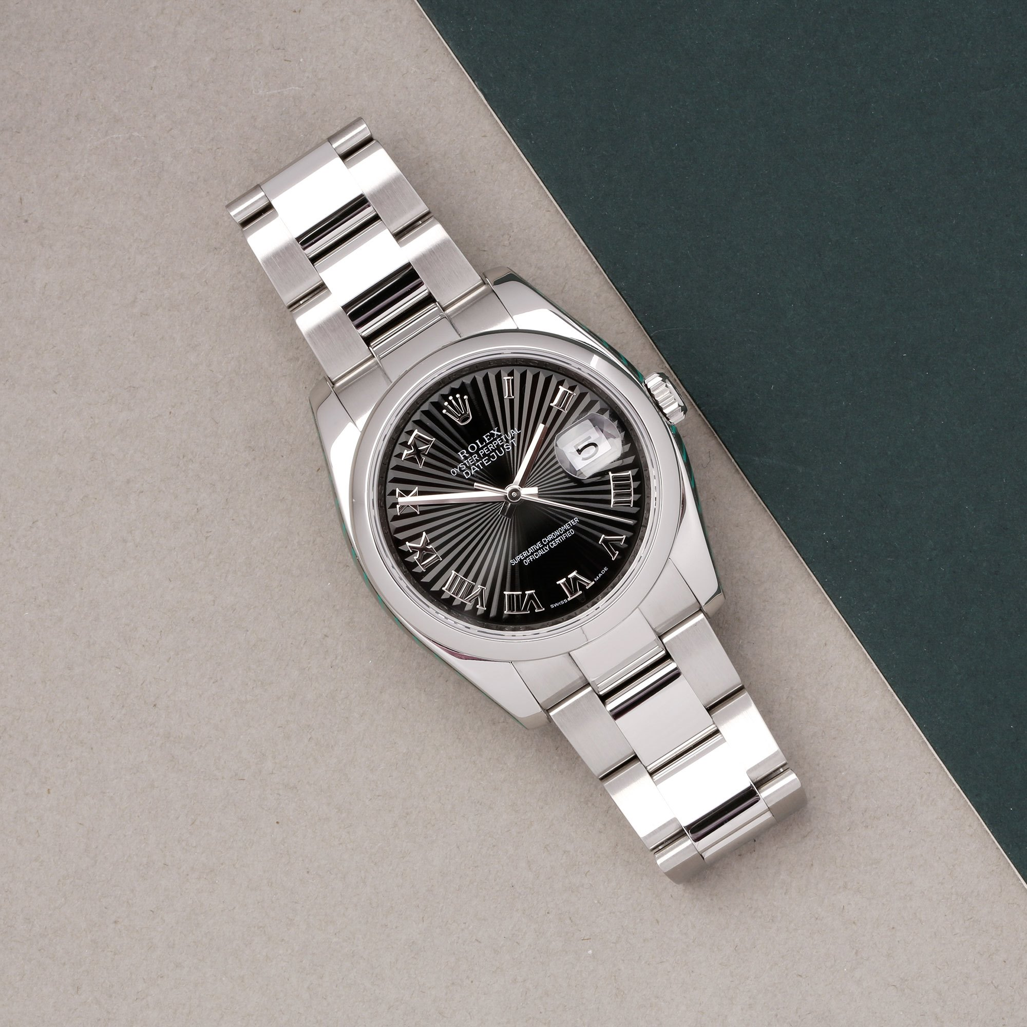 Rolex Datejust 36 116200 Men's Stainless Steel Watch - Image 12 of 12