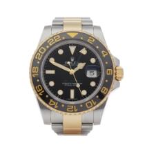Rolex GMT-Master II 116713LN Men's Yellow Gold & Stainless Steel Watch