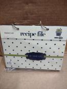 KitchenCraft recipe file RRP £10 Grade U