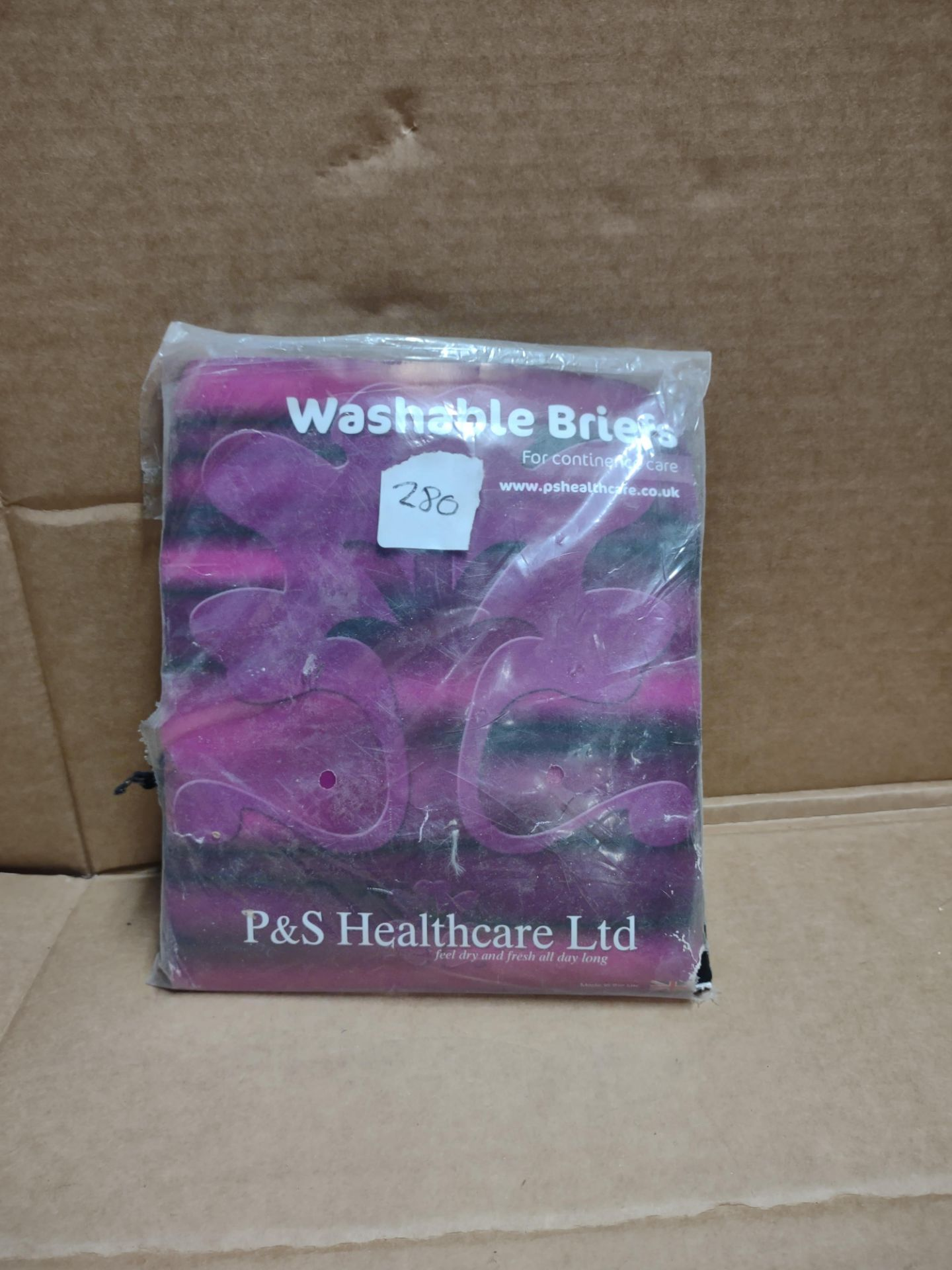 P&S Healthcare Washable briefs for continence care RRP £19.99 Grade U
