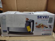 Severin 4 slice toaster RRP £37 Grade U