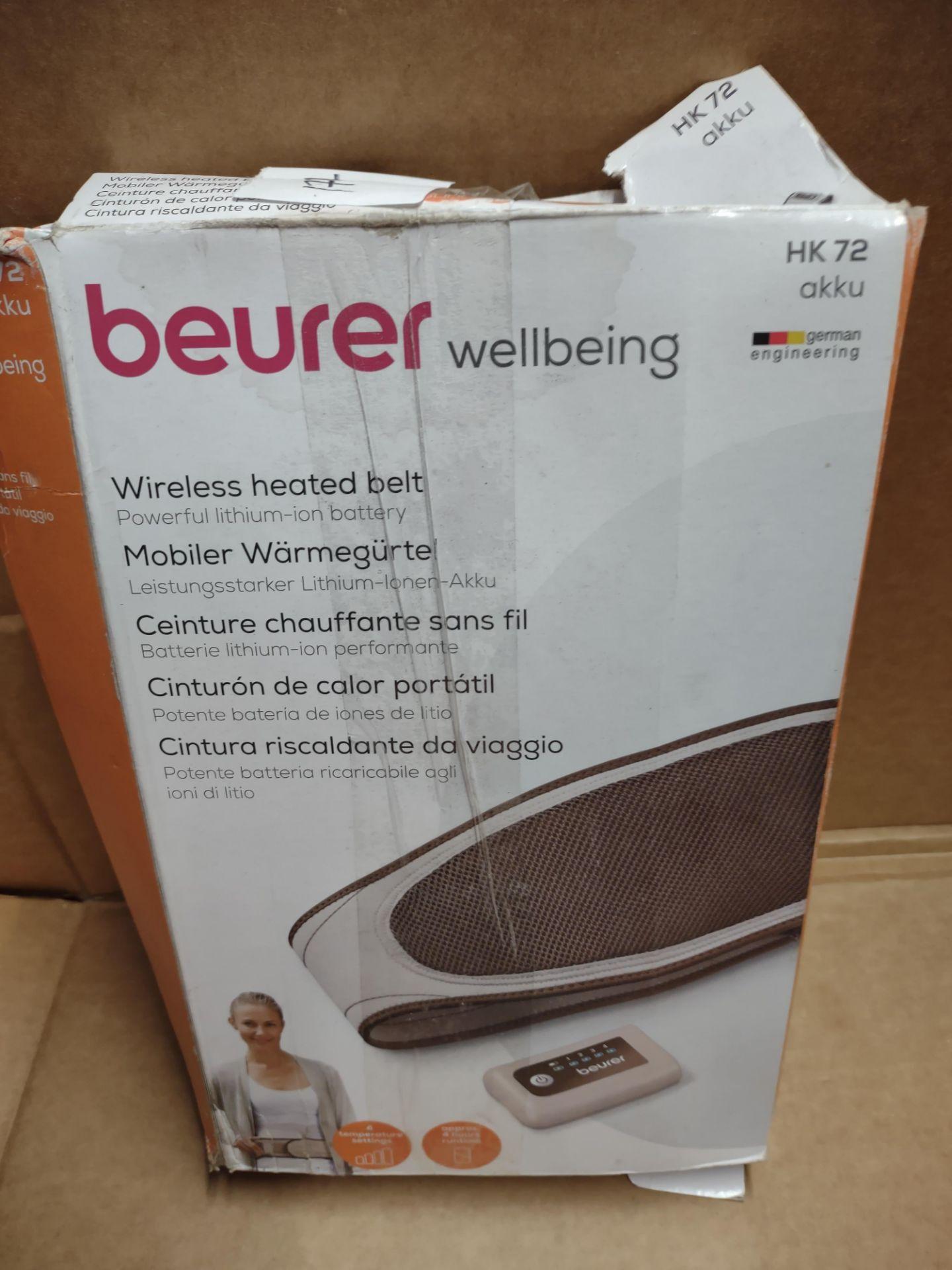 Beurer wellbeing heat pad RRP £30 Grade U