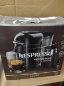 Nespresso veryuo plus and frother RRP £189.99 Grade U