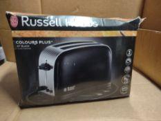 Russell Hobbs 2 slice toaster RRP £35 Grade U
