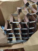 Very large wine rack RRP £50 Grade U