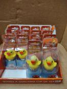 14 x duck tea infusers RRP £70 Grade A