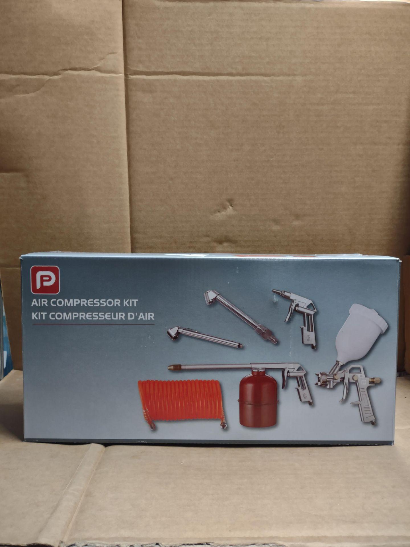 P Air compressor Kit RRP £30 Grade A