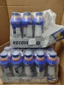 Approx 26 bottles of feel the good recovery protein shakes BBE 16/06/20 RRP £26 Grade U