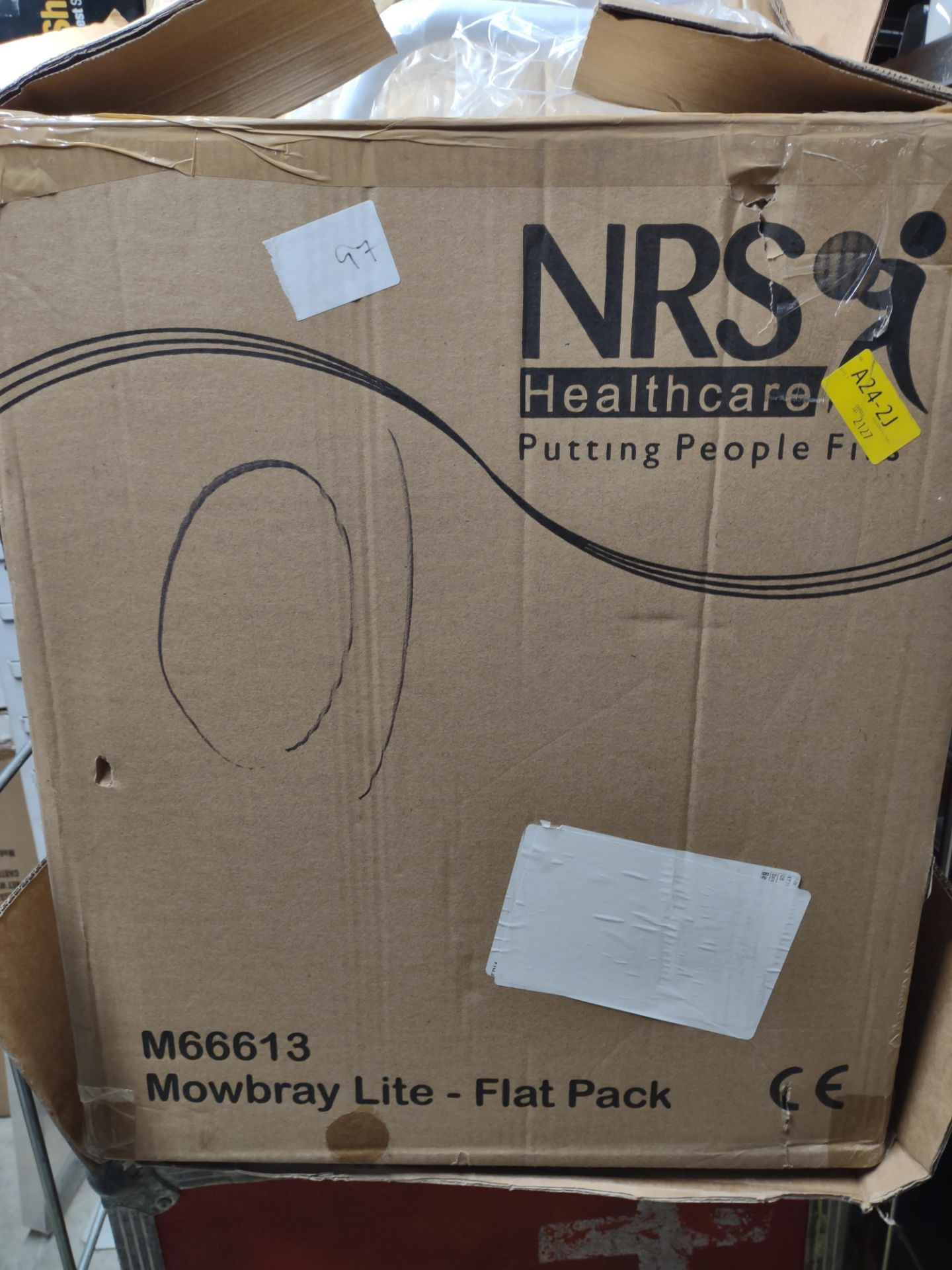 NRS Healthcare Morbray lite M66613 Chair – RRP £40 Grade U